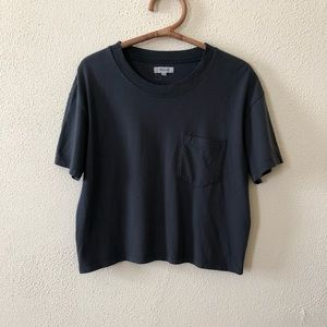 Madewell Cropped Box Top M